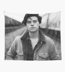 COLE SPROUSE BLACK AND WHITE Wall Tapestry