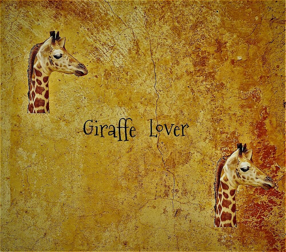 Giraffe Lover  by LeonaPaints