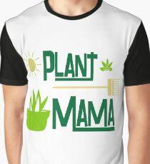 Plant Mama Design For Gardeners Graphic T-Shirt
