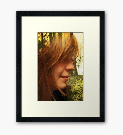 EVA Framed Print