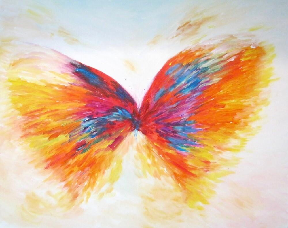 Butterfly Fleeting Image by Jean Tatton Jones