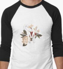 sm3 flower perspective Men's Baseball ¾ T-Shirt