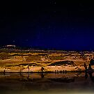 Big Bend by Night - Murray River South Australia by Candy Jubb