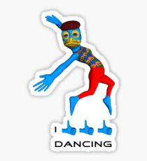 I like dancing Sticker