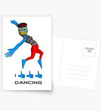 I like dancing Postcards