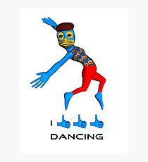 I like dancing Photographic Print