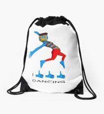 I like dancing Drawstring Bag