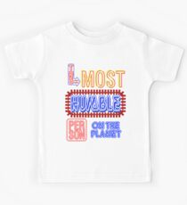 Most Humble Person Kids Tee