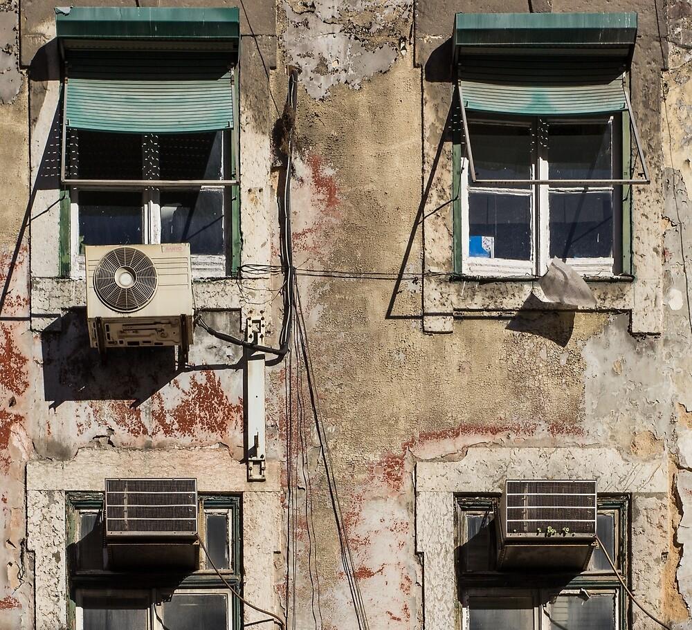 Lisbon windows by AndyJayPics