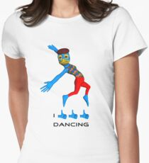 I like dancing Women's Fitted T-Shirt