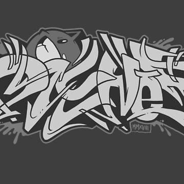 Dzy & Cat (BnW) by DZYNES