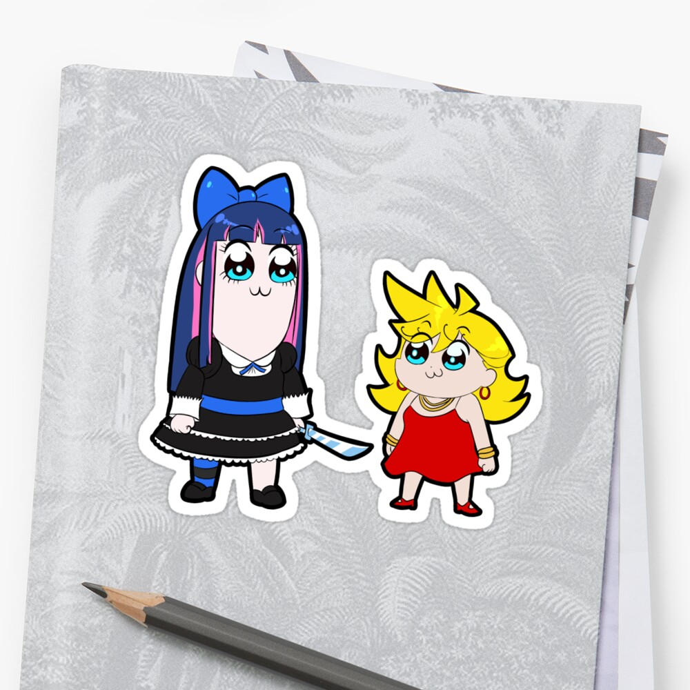 Panty and Stocking/Pop Team Epic!! by AussieGoulash