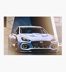 Hyundai RN30 Photographic Print