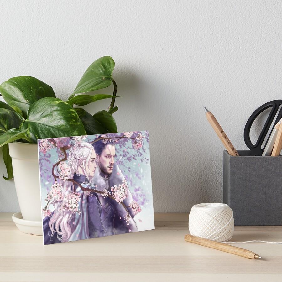 Sakura Art Board Print