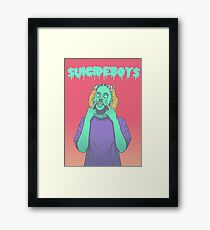 Suicideboys FTP 2D Design Framed Art Print