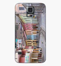Railroad tracks winding through Alausi colourful streets, Ecuador Case/Skin for Samsung Galaxy