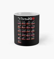 Calendar F1 2018 circuits sport Mug