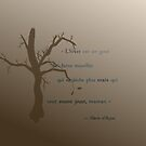 « Court poème sur l'hiver » par mariedanj