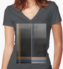 FFreezing Women's Fitted V-Neck T-Shirt