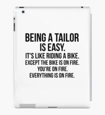 Being a Tailor iPad Case/Skin