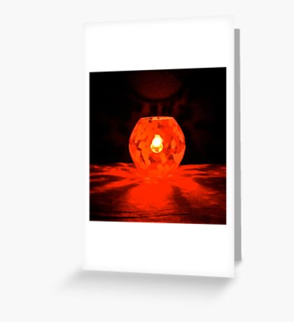 #LIUR – light it up red – #WalkInRed2015 Greeting Card