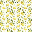 Zitronen-Muster von BekkaCampbell