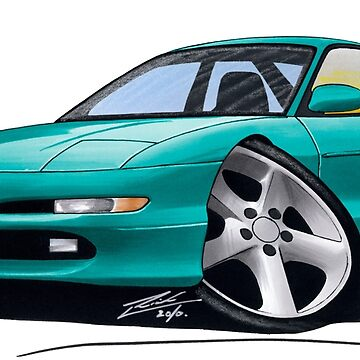 Ford Probe Turquoise [US] by yeomanscarart