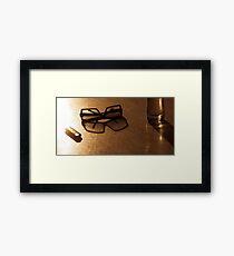 Sun beer Framed Print