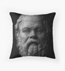 Socrates,     philosopher  Throw Pillow