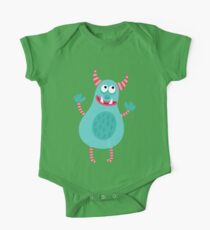 Cute Cartoon Animal Monster One Piece - Short Sleeve