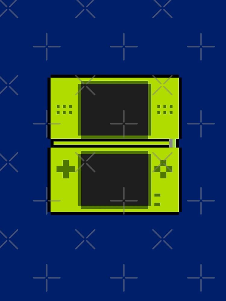 Nintendo Ds Green by ShadowFallen