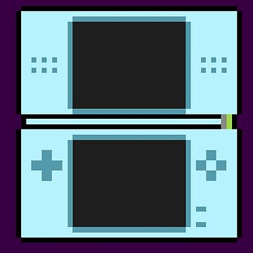 Nintendo Ds Blue by ShadowFallen