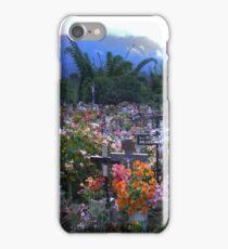 Cimetière Paysager, Hell-Bourg, Réunion Island iPhone Case/Skin