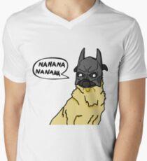 Nanana Pug Men's V-Neck T-Shirt
