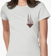 Dry Trees Women's Fitted T-Shirt