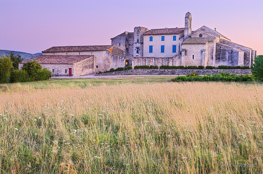 Dusk on Salagon - Provence by Patrick Morand