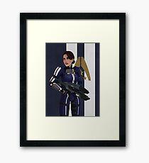 Ashley Williams Framed Print
