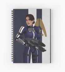 Ashley Williams Spiral Notebook