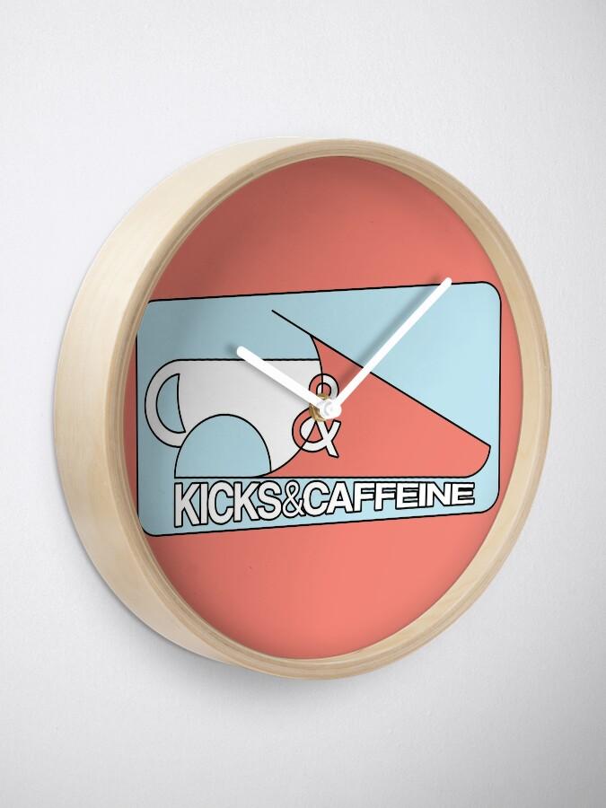 Alternative Ansicht von KICKS & CAFFEINE Uhr
