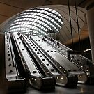 Canary Wharf Underground Station by John Dalkin