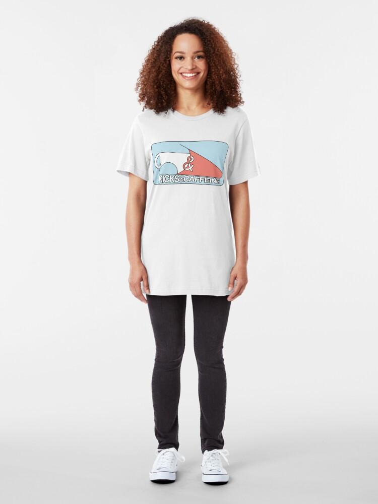 Alternative Ansicht von KICKS & CAFFEINE Slim Fit T-Shirt