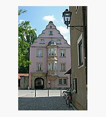 Street in old town of Bairoit.Germany Photographic Print