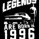 Legends Are Born In 1996 by wantneedlove
