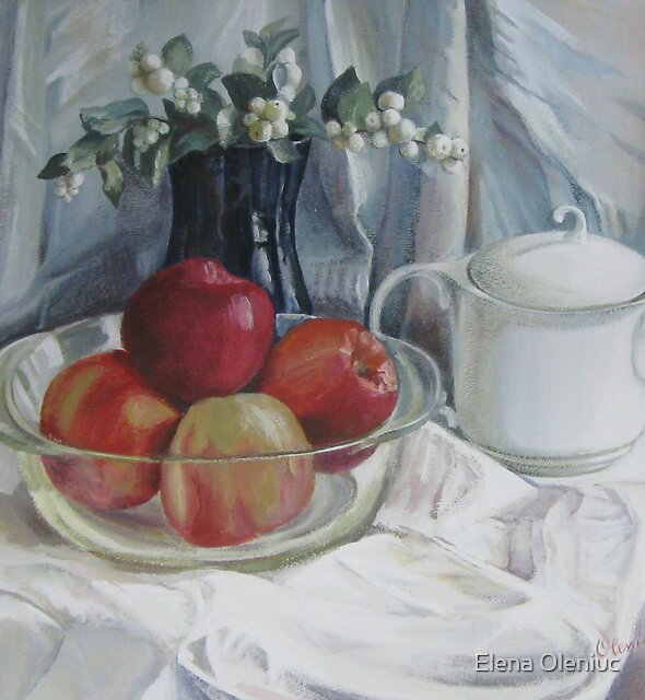 Red apples by Elena Oleniuc
