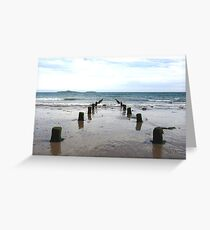 looking out to sea at Aberdaron Greeting Card