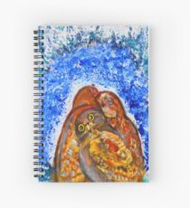 Winter's Nest Spiral Notebook