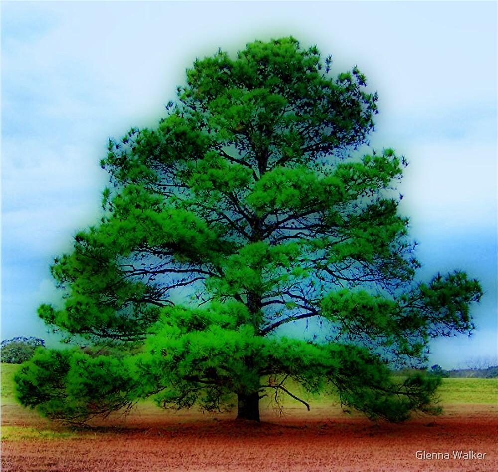 The Scripture Tree by Glenna Walker