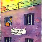 Freedom of Expression by Tom Kozyra
