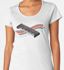 synthesizer juno106 isometric chorus Women's Premium T-Shirt