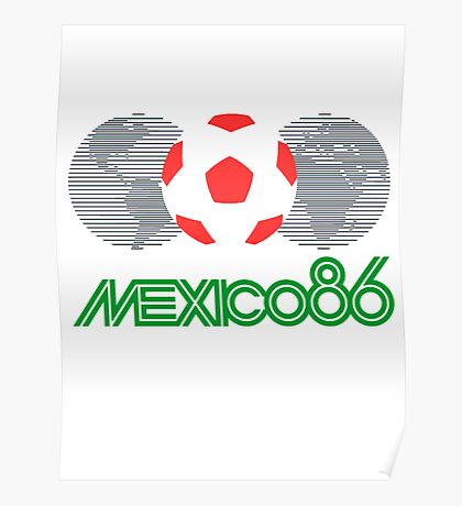 Mexico 86 Poster